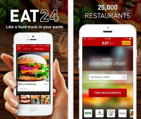 Yelp buys online food ordering service Eat24 for $134 million | Urban eating | Scoop.it