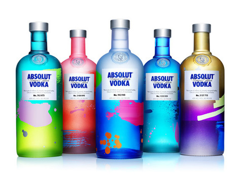 Absolut Unique Raises the Bar With Four Million One-of-a-Kind Bottles | Creative Feeds | Scoop.it