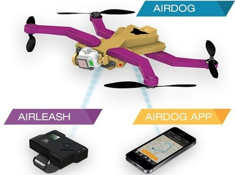 Airdog: Yet another Follow-Me copter on Kickstarter! | The Robot Times | Scoop.it