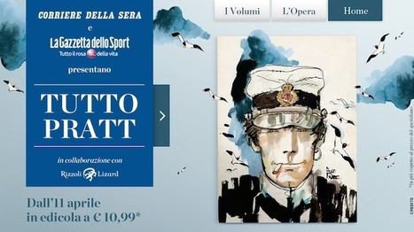 'Tutto Pratt' con Corriere e Gazzetta: il piano editoriale completo | Eightball | Scoop.it