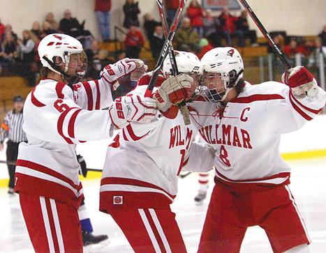 Boys hockey: Cards pound Storm - West Central Tribune | hockeey | Scoop.it