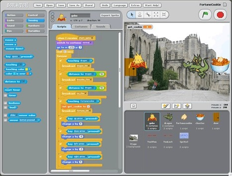Animaciones y Juegos con MIT Scratch | IPAD, un nuevo concepto socio-educativo! | Scoop.it