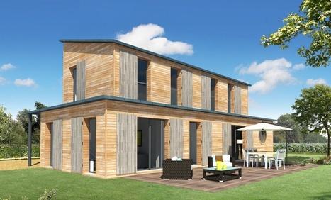 Maison bois bretagne vendee 44 constructeur m for Constructeur maison bois kit vendee