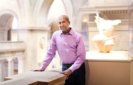 An Interview with NYC Digital Director Sree Sreenivasan | artnet News | Museums and emerging technologies | Scoop.it