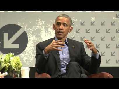President Barack Obama Keynote Conversation   SXSW Interactive 2016   Workplace Evolution   Scoop.it