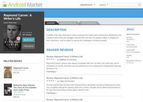 Un catalogue d'ebooks directement dans l'Android market | ACTU DES EBOOKS | Scoop.it