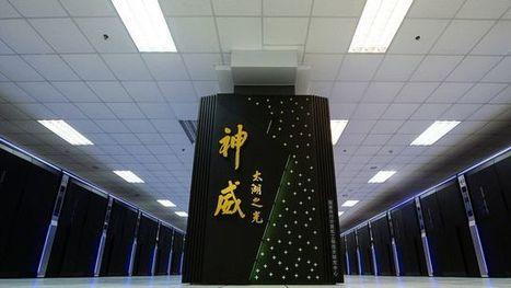 La #Chine présente le super-ordinateur le plus rapide au monde - 4 mn - RTS #informatique | Infos en français | Scoop.it
