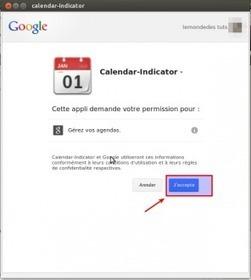 Calendar Indicator - Gérer votre calendrier (google) sous Ubuntu | tutoriel,astuce,tech, geek....... | Scoop.it