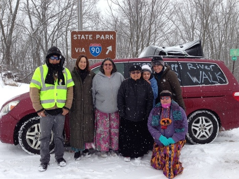 'River Walkers' To Trek Entire Length Of Mississippi - #idlenomore for the #WATER   IDLE NO MORE WISCONSIN   Scoop.it