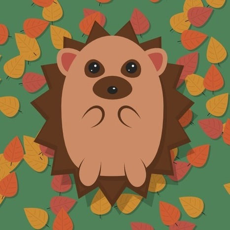 Create an Adorable Hedgehog with Basic Tools in Inkscape ... | Grafika | Scoop.it