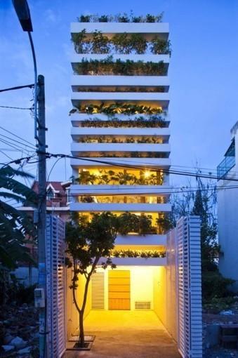 L'architecte qui dessine des bâtiments pour y planter des arbres - Réalisations | Srg | Scoop.it