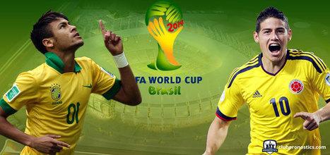 Pronostics Brésil - Colombie : Mondial 2014 - Quart de finale | Paris sportifs et pronostics | Scoop.it