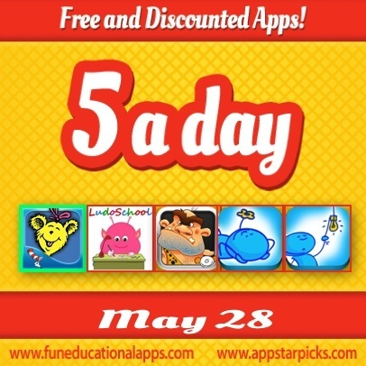 Kids Apps Deals - Free Apps for Education and Kids Wellbeing - May 28 - Fun Educational Apps for Kids: Reviews, Daily Deals and Giveaways | Education Tips and Info | Scoop.it