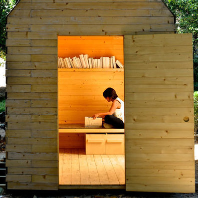 One, Two and Many reading cabin by Marta Wengorovius | Libraries | Scoop.it