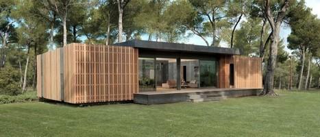 Une maison construite en quatre jours ! | Mécatronique - lycée | Scoop.it