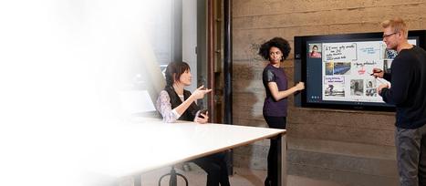 Microsoft Surface Hub | Educational Technology: Leaders and Leadership | Scoop.it