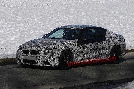 BMW M4 Coupé 2014, fotos espía - Actualidad Motor   carros bmw   Scoop.it