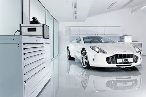 How Aston Martin Builds the Gorgeous One-77 Supercar   motohistory   Scoop.it