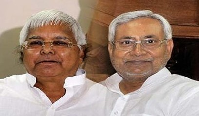 Nitish thanks Lalu for support, appeals for unity against BJP - Sanchar Express | News | Scoop.it