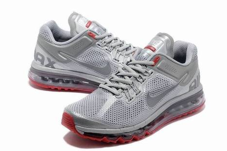 Nike Air Max 2013 LE Reflective Silver Pimento UK Discount | nice day | Scoop.it