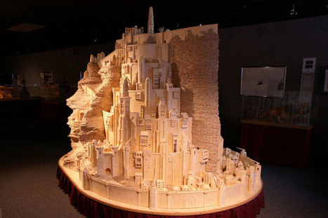 Minas Tirith Made From 420,000 Matchsticks | Xposed | Scoop.it