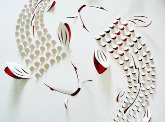 Initiales GG, une fille mais pas que...: Les petits papiers de Lisa Rodden | Déco Design | Scoop.it