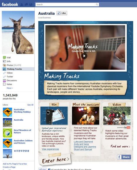 6 astuces pour bonifier sa page Facebook de destination touristique | E-tourisme JG | Scoop.it