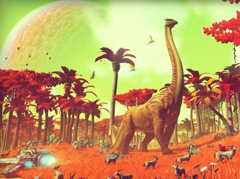 New 'No Man's Sky' Trailer 'Explore' Shows Glimpse Of Its Vast Universe [Video] | Technology in life | Scoop.it