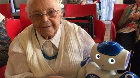 Sciences. Le petit robot Zora fait sensation à la maison de retraite | Une nouvelle civilisation de Robots | Scoop.it