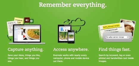 Evernote: A Powerful Organizational Tool! | Organization Tools | Scoop.it