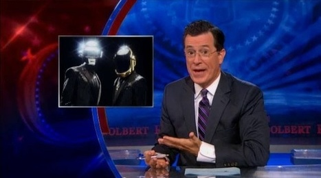"Review of Stephen Colbert's New Edition of Daft Punk's ""Get Lucky"" / Fun & Humor / Sharexy 