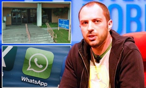 From Food Stamps to Multi-Millionaire, What's App Founder | Data in Social Media | Scoop.it