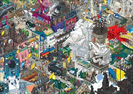 Le Pixel Art : d'engeance informatique à mouvement artistique | Art numérique, infographie 3D, graphisme: le blog de Mod&Wa | Inspirations graphiques | Scoop.it