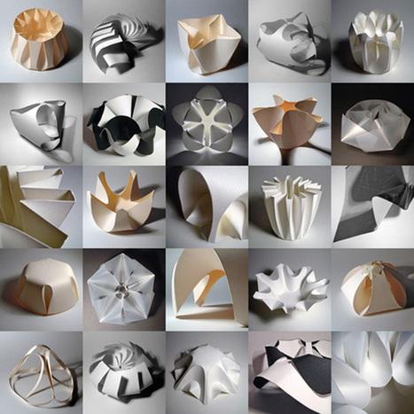 Paper Sculptures/ Richard Sweeney - eVolo   Architecture Magazine   [THE COOL STUFF]   Scoop.it