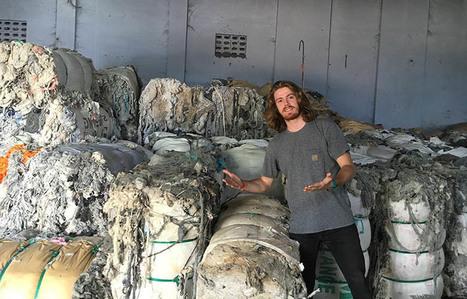 2 français lancent le t-shirt 100% en déchets recyclés et équitable | Pour une autre manière de consommer | Scoop.it