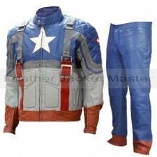 Captain America - The First Avenger Leather Suit | leather Craze | Scoop.it