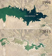 Yale Environment 360: Parched New Mexico Reservoir Reveals Effects of Prolonged Drought | Sustainable Futures | Scoop.it