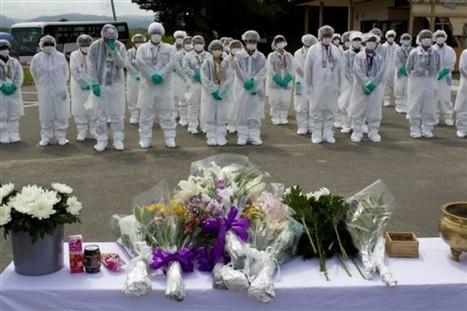 [Eng] Commémoration à Okuma | Daylife - Photo AP Photo | Japon : séisme, tsunami & conséquences | Scoop.it