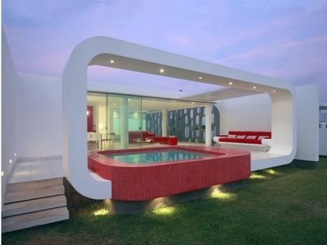 Maison d'architecte : une boîte blanche ouverte sur la mer | Assurance dommage ouvrage by EVE assurances | Scoop.it