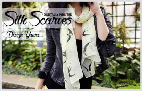 Uplift your personality and look with designer silk  scarves | Artofwhere | Scoop.it