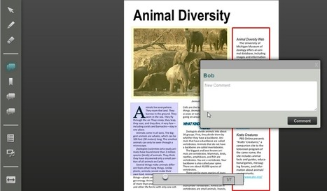 Turn PDFs into interactive texts | 2.0 Tools... and ESL | Scoop.it
