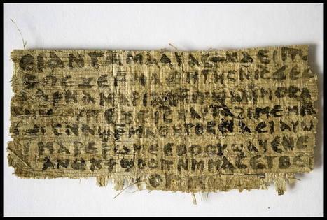El descubrimiento de un nuevo papiro reabre el debate sobre el matrimonio de Jesús de Nazaret | Hey baby que pasó | Scoop.it