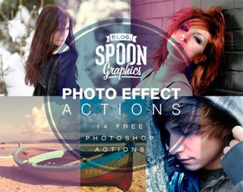 14 acciones de Photoshop para descargar | Fotografia | Scoop.it