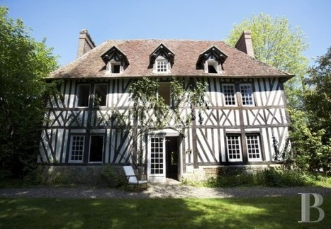In Upper Normandy, 17th century presbytery - France mansions for sale - in Normandie, Bretagne, North, Perche - Patrice Besse Castles and Mansions of France is a Paris based real-estate agency spec... | English Faction Year 10 | Scoop.it
