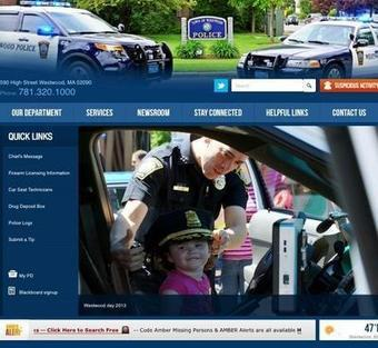 Westwood Police Department set to launch new web site | New Websites Police | Scoop.it