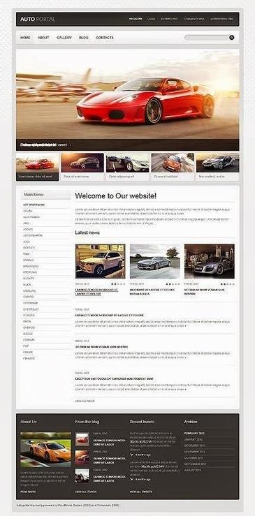 20 Premium WordPress Car Themes ~ Web Designer Pad | Web Design | Scoop.it
