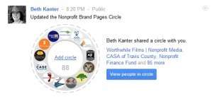 Google + Nonprofit Brand Pages | Google + for Nonprofits | Scoop.it