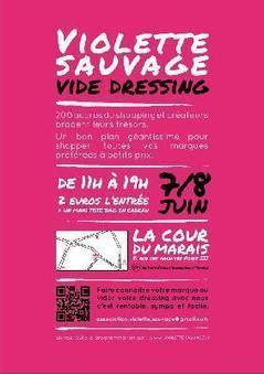 Vide dressing Géant Violette Sauvage à la Cour du Marais | LM sam | Scoop.it