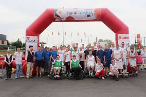 Valenciennes: Auchan sensibilise ses collaborateurs au handicap ... - La Voix du Nord   Sport en entreprise   Scoop.it