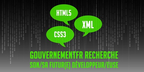 Gouvernement.fr recrute un(e) développeur(euse) web | BeginWith | Scoop.it